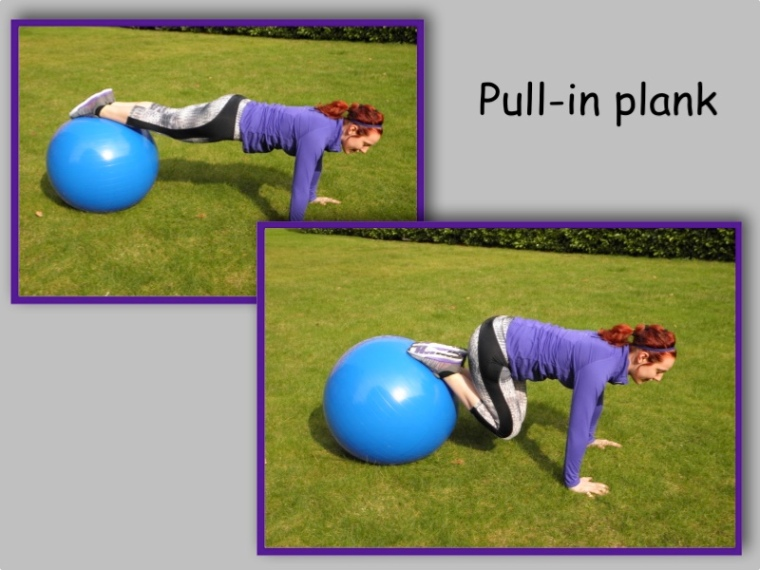 Pull in plank